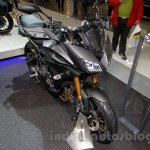 Yamaha MT-09 Tracer front three quarters or Yamaha FJ-09 front three quarters at the EICMA 2014