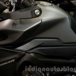 Yamaha MT-09 Tracer fuel tank or Yamaha FJ-09 fuel tank at the EICMA 2014