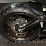 Yamaha MT-09 Tracer rear wheel or Yamaha FJ-09 rear wheel at the EICMA 2014
