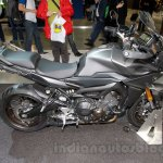 Yamaha MT-09 Tracer side or Yamaha FJ-09 at side the EICMA 2014