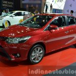 2014 Toyota Vios Front Three Quarters at the 2014  Thailand Motor Show