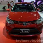 2014 Toyota Vios Front at the 2014  Thailand Motor Show