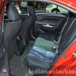 2014 Toyota Vios Rear Seats at the 2014 Thailand Motor Show
