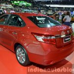 2014 Toyota Vios Rear Three Quarters at the 2014 Thailand Motor Show