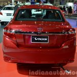 2014 Toyota Vios Rear at the 2014 Thailand Motor Show