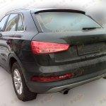 2015 Audi Q3 spied in China rear three quarter