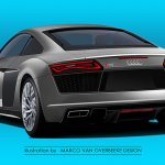 2015 Audi R8 Rear three quarter