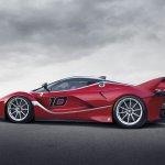 2015 Ferrari FXXK rear three quarters