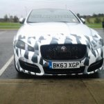 2015 Jaguar XJ facelift front fascia spyshot