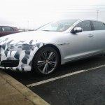 2015 Jaguar XJ facelift front three quarters spyshot