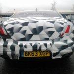 2015 Jaguar XJ facelift rear fascia spyshot