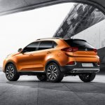 2015 MG GTS SUV rear official
