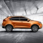 2015 MG GTS SUV side official