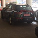 2016 Audi Q7 rear India spied