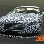 2016 Ford Taurus front spied