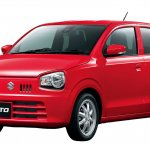 2016 Suzuki Alto Front three quarter Japan