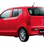 2016 Suzuki Alto rear three quarter Japan single colour