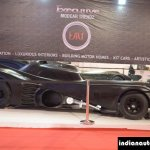 Batmobile Replica by EMT side at APS 2014