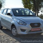 Datsun Go+ front quarter Review