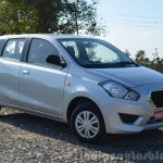 Datsun Go+ front quarters Review