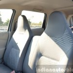 Datsun Go+ front seats Review