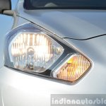 Datsun Go+ headlight on Review