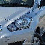 Datsun Go+ lights Review