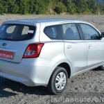 Datsun Go+ rear angle Review