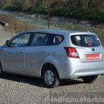 Datsun Go+ rear quarter Review