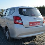 Datsun Go+ rear quarter photo Review