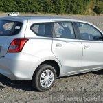 Datsun Go+ rear quarters angle Review