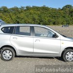 Datsun Go+ side boot open Review
