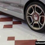 Fiat Abarth 595 Competizione 17-inch alloy wheel at Autocar Performance Show 2014