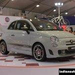 Fiat Abarth 595 Competizione front three quarter at Autocar Performance Show 2014