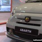 Fiat Abarth 595 Competizione logo at Autocar Performance Show 2014