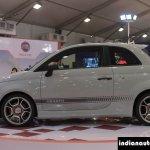 Fiat Abarth 595 Competizione profile at Autocar Performance Show 2014