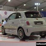 Fiat Abarth 595 Competizione rear left three quarter at Autocar Performance Show 2014