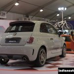 Fiat Abarth 595 Competizione rear three quarter at Autocar Performance Show 2014