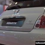 Fiat Abarth 595 Competizione taillight at Autocar Performance Show 2014