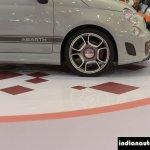 Fiat Abarth 595 Competizione wheel at Autocar Performance Show 2014