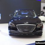 Hyundai Genesis at Autocar Performance Show 2015 front