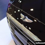 Hyundai Genesis badge at Autocar Performance Show 2015