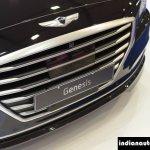 Hyundai Genesis  grille at Autocar Performance Show 2015