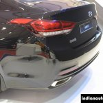 Hyundai Genesis taillight at Autocar Performance Show 2015