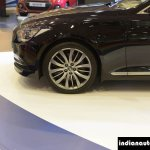 Hyundai Genesis wheel at Autocar Performance Show 2015