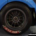 JA Motorsport Tata Super Nano alloy wheel at 2014 APS