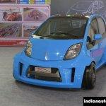 JA Motorsport Tata Super Nano front at 2014 APS