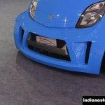 JA Motorsport Tata Super Nano front bumper at 2014 APS