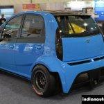JA Motorsport Tata Super Nano rear three quarter at 2014 APS