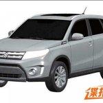 Suzuki Vitara front quarter patent China